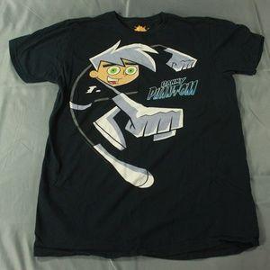 Adult Nickelodeon 2009 Danny Phantom T Shirt Sz L